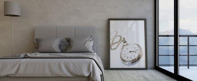 Za sobo ni pomembna samo postelja, izbrati moramo še vzmetnice