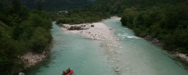 Bovec white water rafting