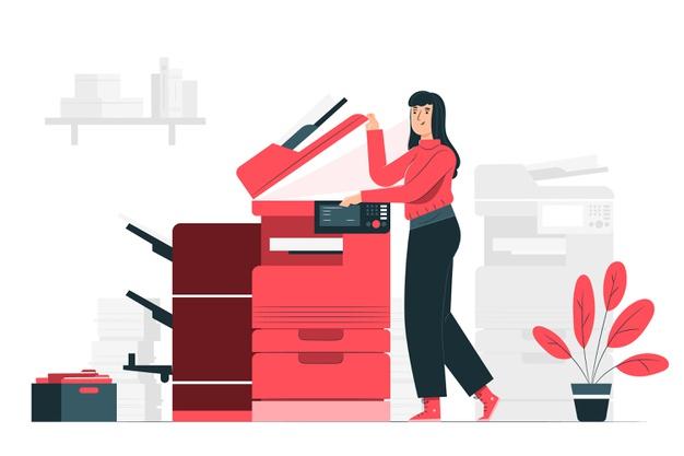 Hitro in učinkovito poslovno tiskanje in fotokopiranje