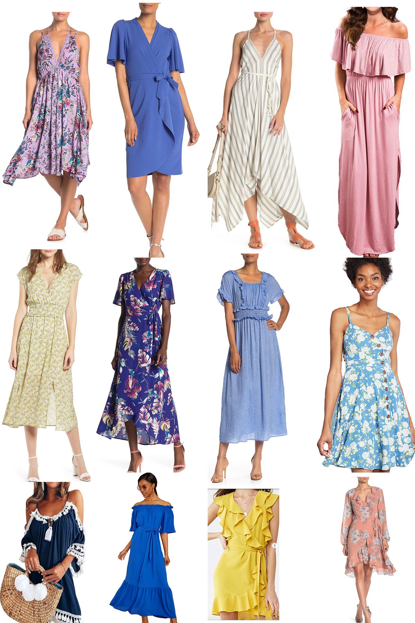 Največja izbira oblek za poletje – tudi za močnejše postave